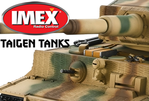 Imex Taigen RC Tanks